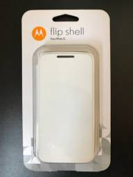 Capa case original moto G1 Motorola flip shell