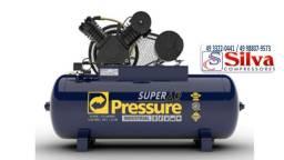 Compressor de ar 30 pés 250 litros 175 LBS Pressure