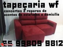 Reformas de acento de sofá e cadeiras em domicilio