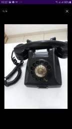 Telefone antigo para colecionadores