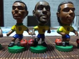 Bonecos seleção brasileira