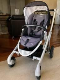 Conjunto carrinho e bebê conforto