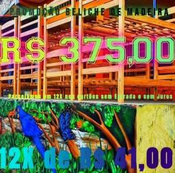 Título do anúncio: Beliche Rústico Para você levar agora menor Preço Manaus