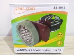 Lanterna de Cabeça Song Star Recarregável