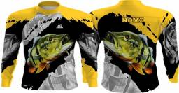 Camisa para grupo de pesca ou individual
