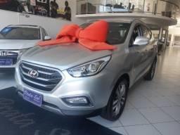 Hyundai IX35 Gls 2.0 Aut Flex 2017, Multimidia, Couro, Unica Dona, Periciada