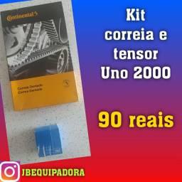 Kit correia e tensor uno 2000 por 90 reais.