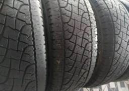 Torro jogo de pneus 255 60 18  pneus filé bom de borracha aceito Pix