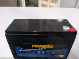 Título do anúncio: Bateria Pioneiro 12V 7Ah
