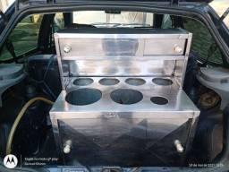 Kit hot dog automotivo