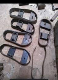 Faca molde para sandálias