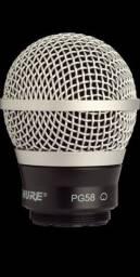 Título do anúncio: Cápsula SHURE RPW110 Wireless PG58 ORIGINAL