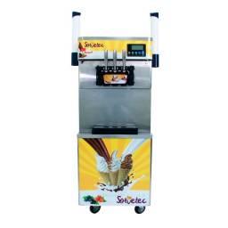 Título do anúncio: Máquina de Sorvete Expresso 825B-P com porta casquina Sorvetec