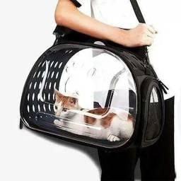 Bolsa de Transporte de Pets Transparente e Desmontável