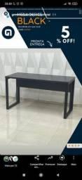 Título do anúncio: Mesa office black  1,10x60x75