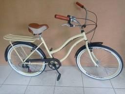 Título do anúncio: Bicicleta aro 26 retrô, Dividimos em 12x no cartão