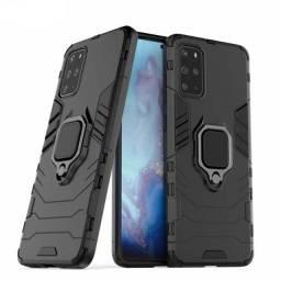Capa 4 em 1 Anti Impacto Choque Militar Samsung Galaxy S20 Plus, aceito cartão
