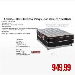 COLCHÃO +BASE BOX CASAL