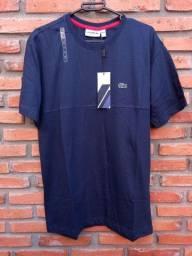 Camiseta Lacoste Azul Escuro G