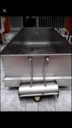 Tanque industrial Aço Inox