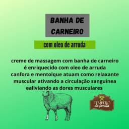 Banha De Carneiro Com Óleo De Arruda 50g