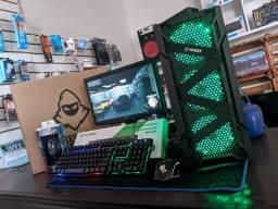 PC GAMER I7 4770 - 8GB RAM HYPER X 1600MHZ - TECLADO SEMI-MECANICO (12X SEM JUROS)