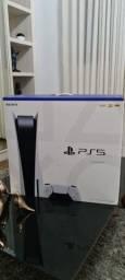 Playstation 5 com leitor de Blu-Ray Novo