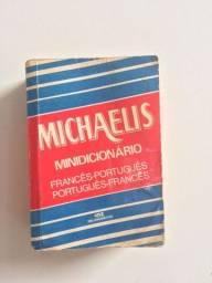 Título do anúncio: Dicionário Michaelis Francês Português