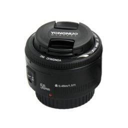 Lente Para Canon 50mm Yongnuo pouco usada