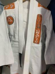 Kimono RILION GRACIE tam A1 com faixa