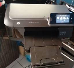 Vendo ou Troco - Impressora Colorida HP Officejet Pro 251 Conecta no Wi-fi e cabo UBS