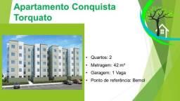 Título do anúncio: apartamento no conquista torquato, 2 quartos - 170 mil