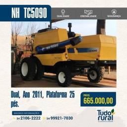 Título do anúncio: Colheitadeira New Holland/Modelo TC5090
