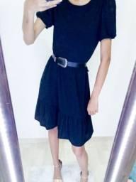 Vestido Babado TAM M