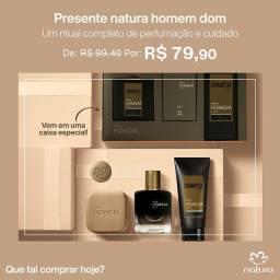 Natura Homem Dom kit