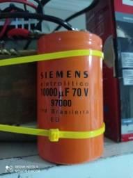 Mega capacitor de até 70 volts 10000uf