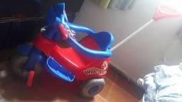 Triciclo Velocita Calesita Azul/Vermelho