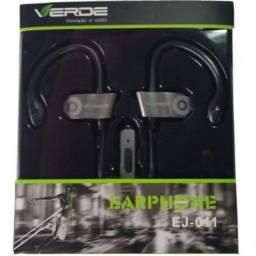 (WhatsApp) fone de ouvido c/ microfone - verde - ej-011