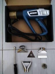 Título do anúncio: Soprador Térmico 1800W com 5 Acessórios - Wesco 110vts