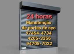 Troca de mola de porta de aço de enrolar 9.7454,'4734