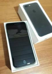 Iphone 7 plus preto 128 Gb