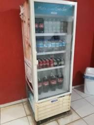 Freezer expositor de refrigerante