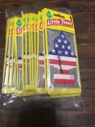 Aromatizante Little Trees Vanilla Pride - Bandeira Eua