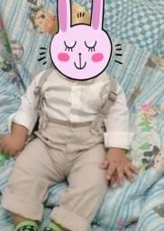Conjunto Batizado para bebê