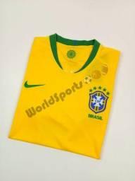 Nova Camisa Nike Brasil Copa 2018 - Neymar JR 10