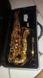Vendo ou troco sax alto por um fluguel ou trombone de pisto