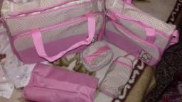 Kit bolsa maternidade 5 pcs novas