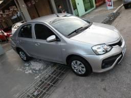 Etios sedan 1.5 X automático estado de 0km - 2018