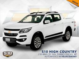 CHEVROLET S10 2.8 HIGH COUNTRY 4X4 CD 16V TURBO DIESEL 4P AUTOMÁTICO - 2020