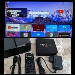 Tv box 3gb de RAM 16gb armazenamento
